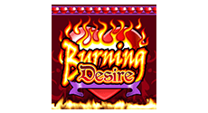 Burning Desire Slot Logo