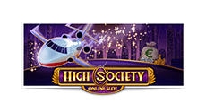 High Society Slot Logo