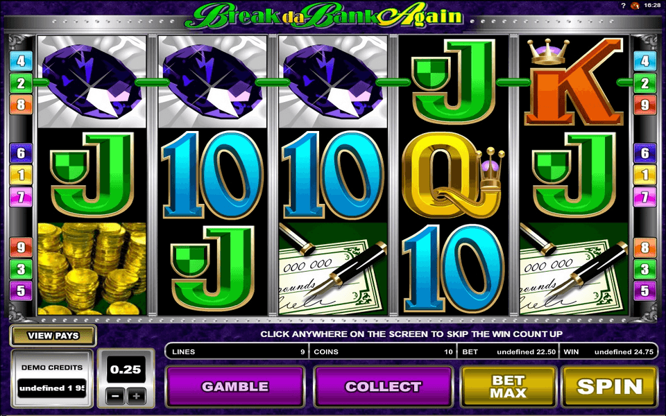 Break Da Bank Again - Rizk Casino