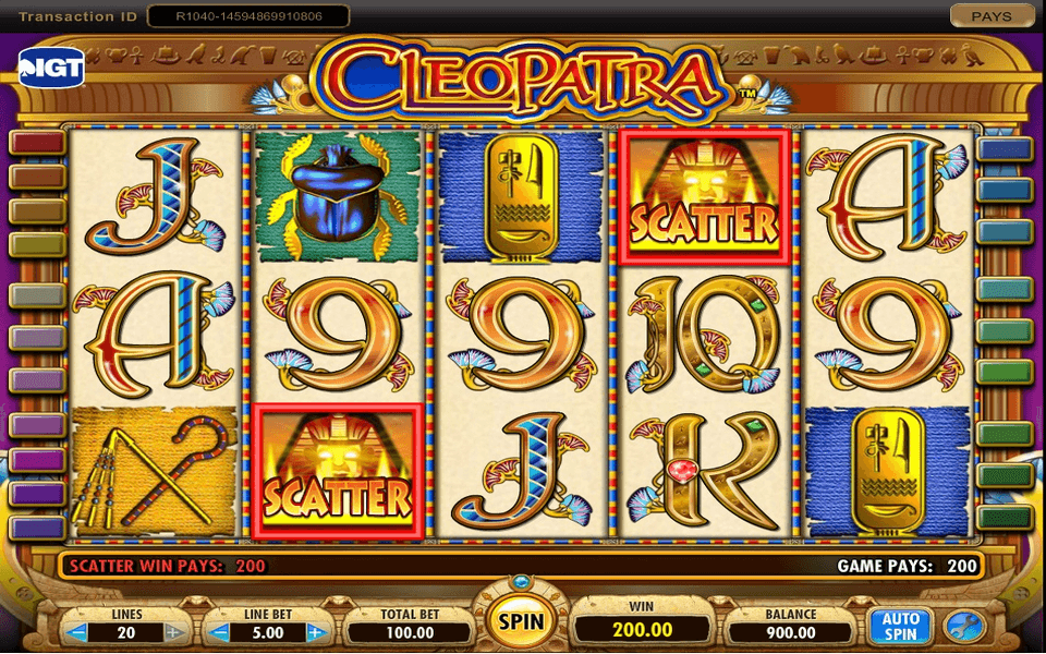 Cleopatra Game Screenshot