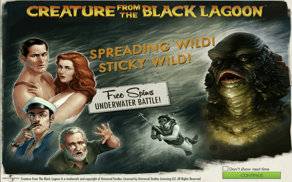 Creature from the Black Lagoon Game Screenshot