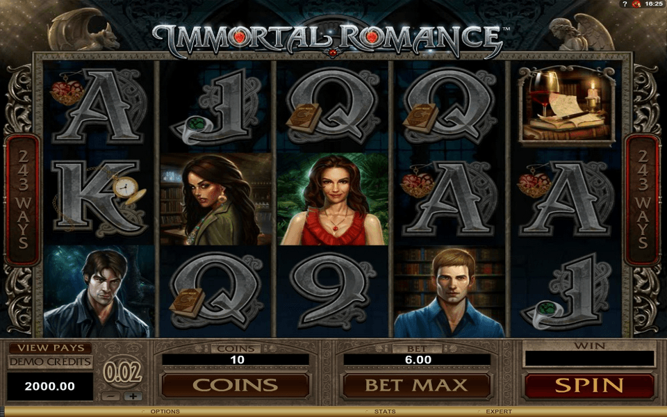 Immortal Romance Game Screenshot