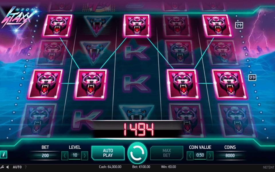 Spiele Neon Staxx Slot Machine - Video Slots Online