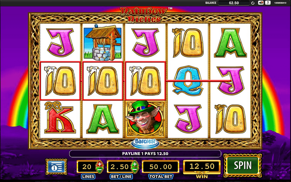 Spiele Rainbow Riches Reels Of Gold - Video Slots Online