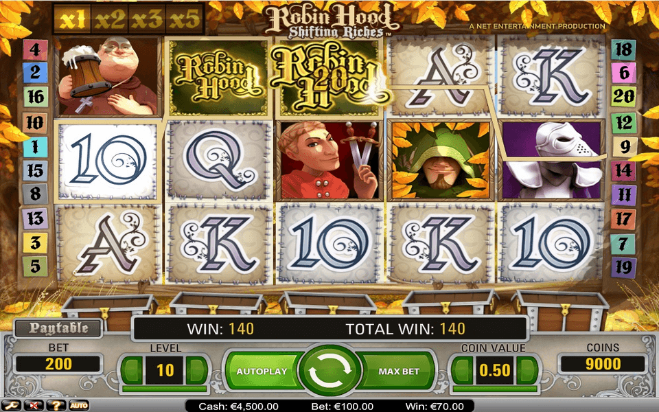 Robin Hood Game Screenshot