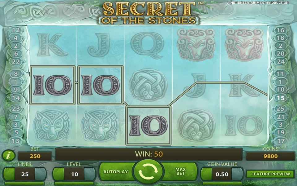 Secrets of the Stone Game Screenshot