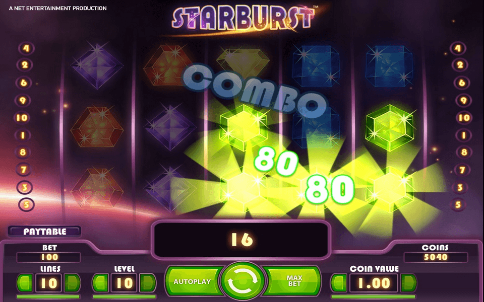 Starburst Game Screenshot