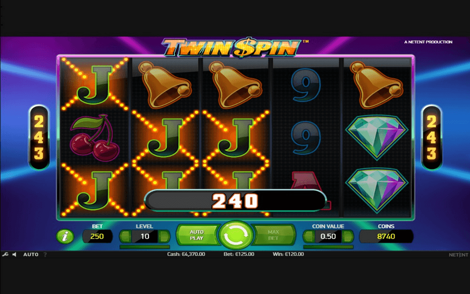 Twin Spin Game Screenshot