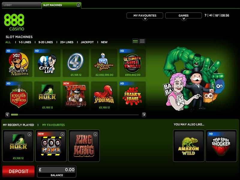 888 Casino Instant