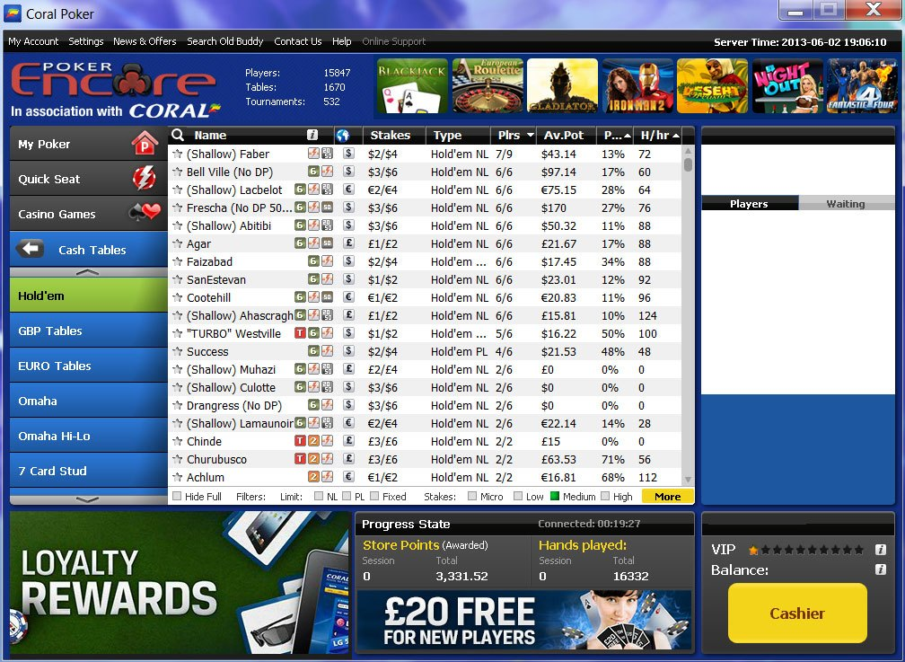 online casino coral