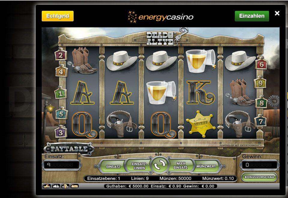 energy casino co uk